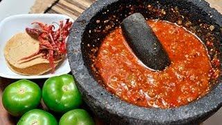 Salsa De Tomate Con Chile De árbol Tomato And Chile