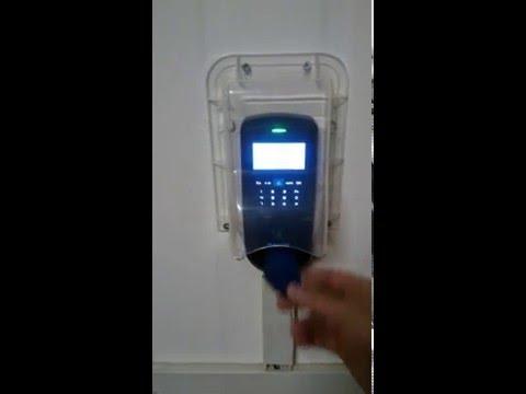 VP30 controllo accessi rfid con cover impermeabile per installazione in esterno