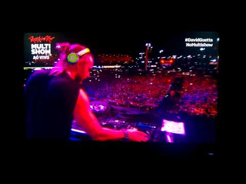 David Guetta no Rock in Rio - I Love It ( I don't care)