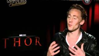 Reel Junkie's Uncensored THOR (2011) Interview: I have Mjolnir in my pants! view on youtube.com tube online.