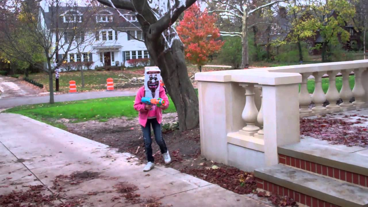 MINECRAFT IN REAL LIFE - ZOMBIE FIGHT!!! - YouTube