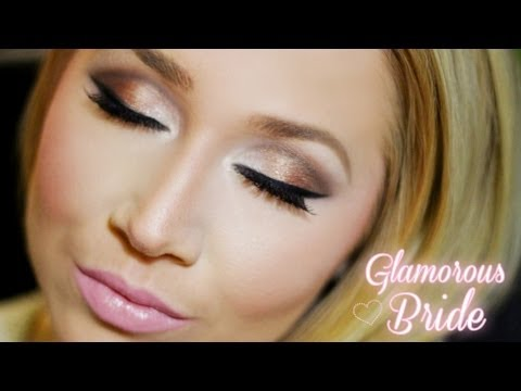 Glamorous Wedding Makeup Tutorial : Glamorous Bridal Makeup: Featuring Urban Decays Naked 2 ...
