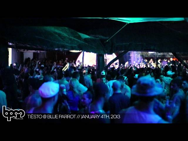 THE BPM FESTIVAL 2013: Tiesto @ Blue Parrot