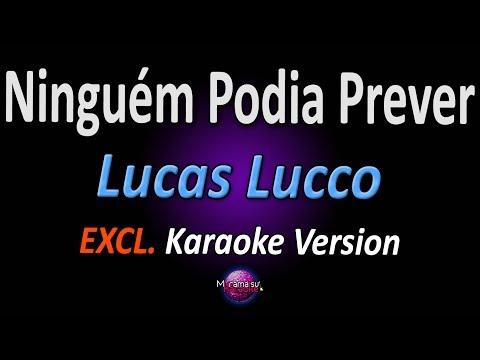 Lucas Lucco - Ninguém Podia Prever (Homenagem à Chorão) (Karaoke Version | Instrumental)
