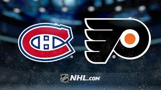 Read, Giroux lead Flyers to 3-1 win against Canadiens