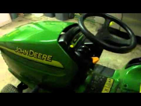 tracteur tondeuse john deere youtube. Black Bedroom Furniture Sets. Home Design Ideas