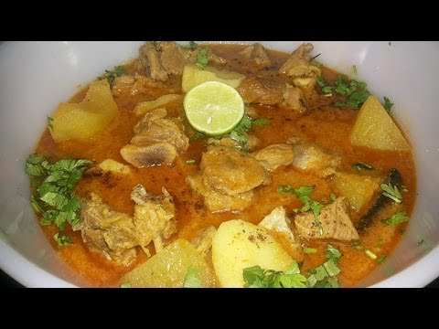 Aloo Gosht Ka Salan (Meat and Potato Curry) ( Cooking With Fouzia )
