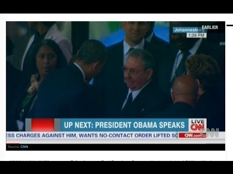 Pundits Sound Off On Obama-Castro Handshake