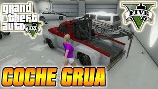 GTA V Online Truco Conseguir Coche Grúa Vehículo