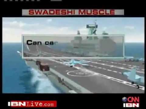 INS Vikrant Indian Navy Indigenous Aircraft Carrier