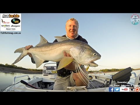 Fish That Snag - Hunting King Threadfin Salmon