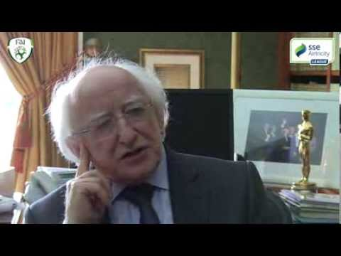 Interview with President Michael D Higgins