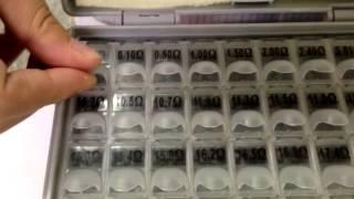 [Resistor and Capacitor kits] Video