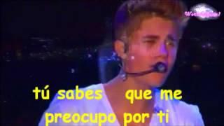 Be Alright Justin Bieber ( Letra En Español ) VIVO