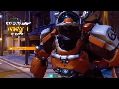 Lucio is a GOD!! Overwatch Gameplay