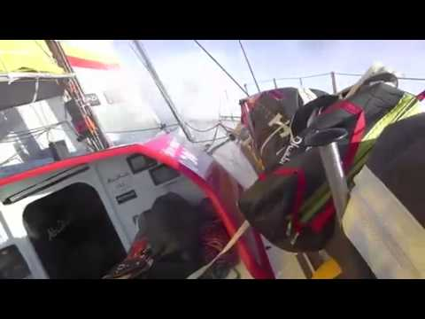 48 hours in the Atlantic aboard Azzam Abu Dhabi Ocean Racing - Sailing