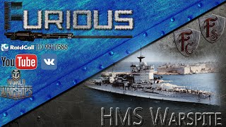 HMS Warspite. Непоколебимая крепость. Обзор корабля.