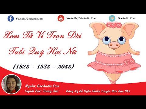 Xem tử vi trọn đời người tuổi Quý Hợi (sinh năm 1923 1983 2043)