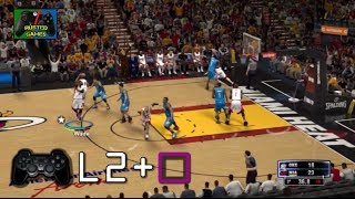 NBA 2K14 [PS3] Cómo Hacer ALLEY OOPS