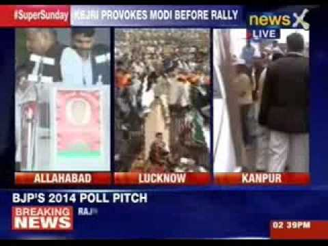 Rajnath Singh addresses rally in Lucknow, Modi next