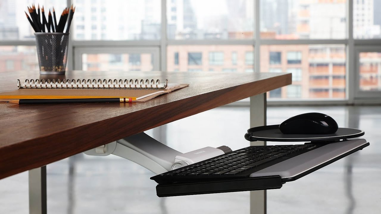 Humanscale Keyboard Tray Systems Review The Human