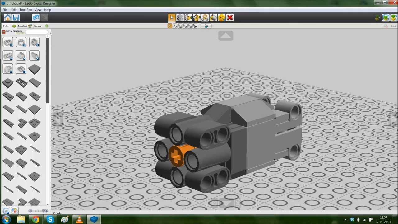 Lego Digital Designer Templates Bigstackstudios