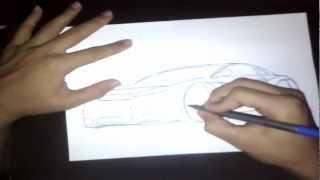 Aula Basica De Como Desenhar Carro
