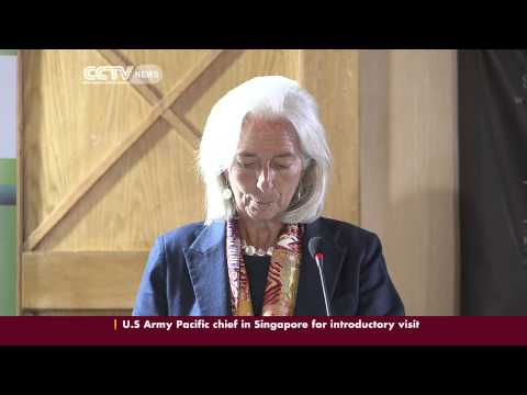 IMF chief talks on Kenya's economic outlook