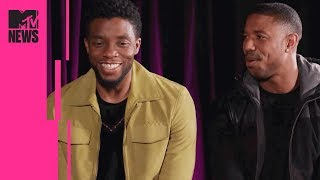 'Black Panther's Michael B. Jordan & Chadwick Boseman on Cultural Impact & Identity | MTV News