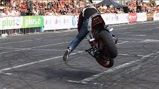 Motorcycle Stunt - 1st PLACE PLUS STUNT GRAND PRIX 2013