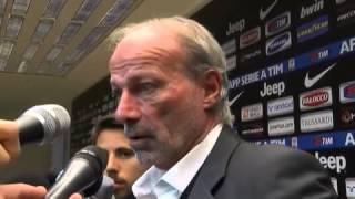 Sabatini: 'Tutti e tre i gol della Juve irregolari'. Marotta: 'Parole di Totti inaccettabili'