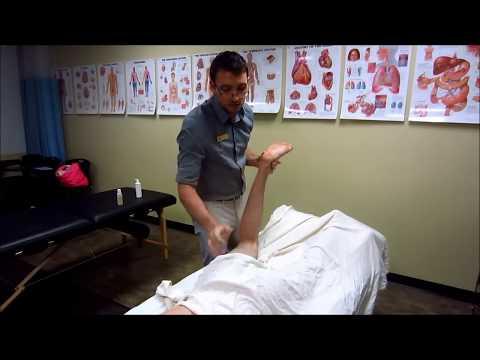 Massage Tutorial: Myofascial Release for Sciatica, hip pain, shooting leg pain/numbness