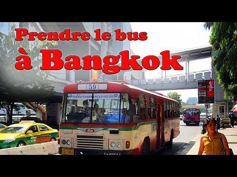 les bus à bangkok