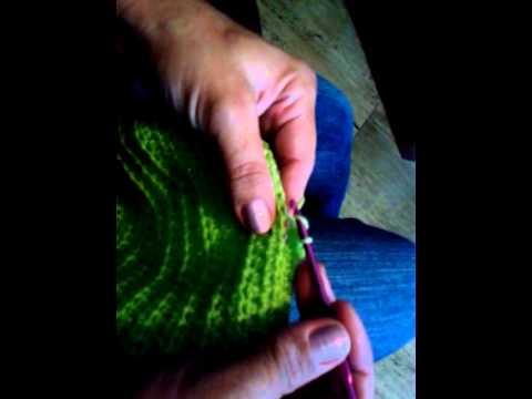 como fazer uma manta de croche