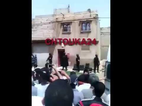 """بالفيديو:لحظة توقيف """"داعشي"""" القليعة"""