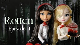 "Ever After High Stopmotion ""Rotten"" (Episode 1) *FOR"