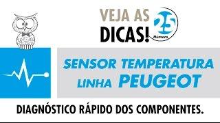 DICA MTE 25 – Sensor de Temperatura Linha Peugeot