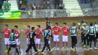 Futsal, Sporting - 3 Benfica - 2 Final Taça Honra AFL 2013/2014