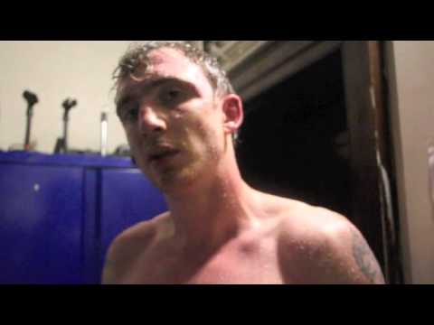 iFL PROSPECT SONNY DONNELLY INTERVIEWS SAM PIASECKI AFTER WIN @ CAMDEN CENTRE - POST FIGHT