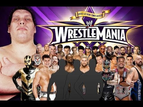 WrestleMania XXX Tale of the Tape: The Andre the Giant Memorial Battle Royal