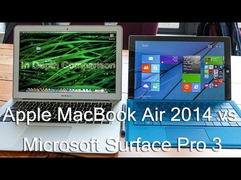 Surface Pro 3 vs. MacBook Air : Who is the winner ?