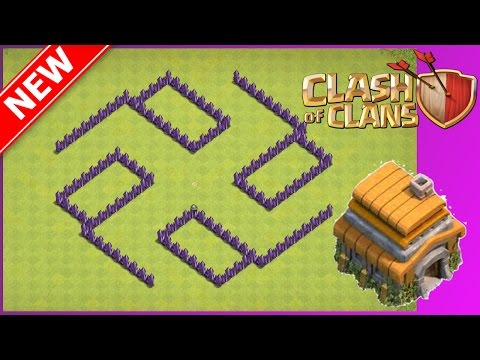 New BEST Th6 War/Trophy Base | The Cross | Anti-Giant Heal Attacks (Base Layout Defence)