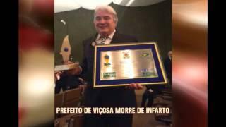 Infarto mata prefeito de Vi�osa, na Zona da Mata
