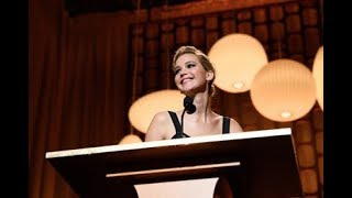 Jennifer Lawrence honors Donald Sutherland at the 2017 Governors Awards