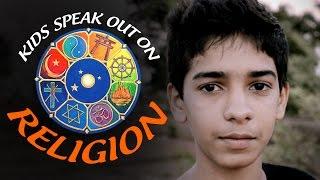 Anak-anak yang berbicara tentang agama