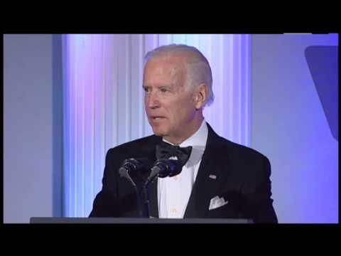 US Vice President Joe Biden at The American Ireland Fund Washington, DC National Gala 2014