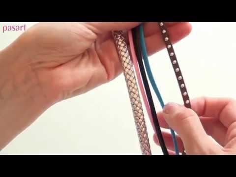 Jak samemu zrobić bransoletkę – kurs biżuterii krok po kroku. Bardzo łatwe!