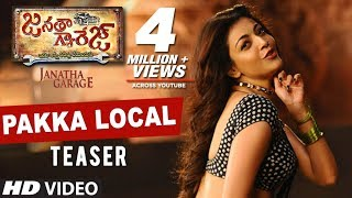 Kajal Aggarwal Item song Video Teaser - Janatha Garage -Jr..