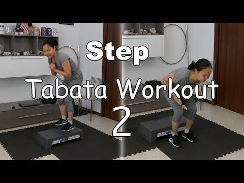 Intense Tabata Step Workout # 2 - High Impact