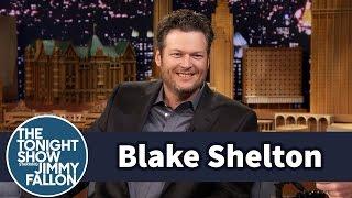 Jimmy Serenades Blake Shelton